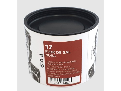 Flor de Sal con Ñora 100 g.