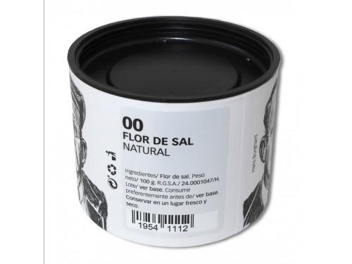 Flor de Sal Natural 100 g.
