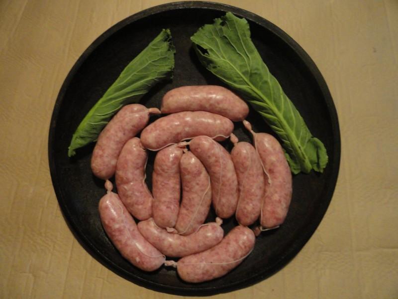 Chorizo Criollo 50% cerdo celta 50% cerdo blanco 10 a 12 piezas kg.
