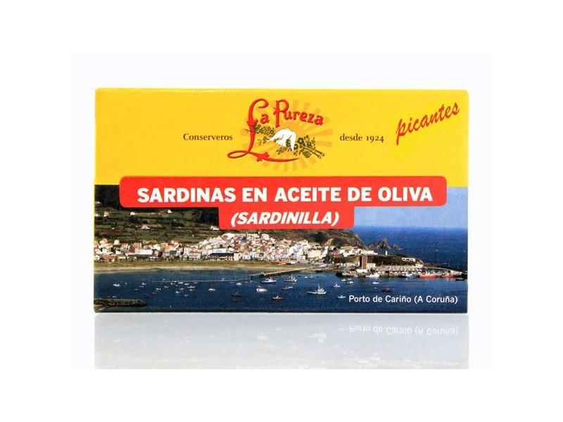 Sardinillas Picantes en Aceite de Oliva