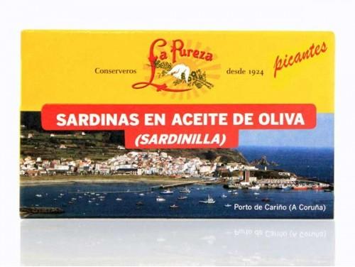Sardinillas Picantes en Aceite de Oliva 115gr