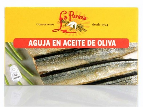 Aguja en Aceite de Oliva  P.N.115gr La Pureza