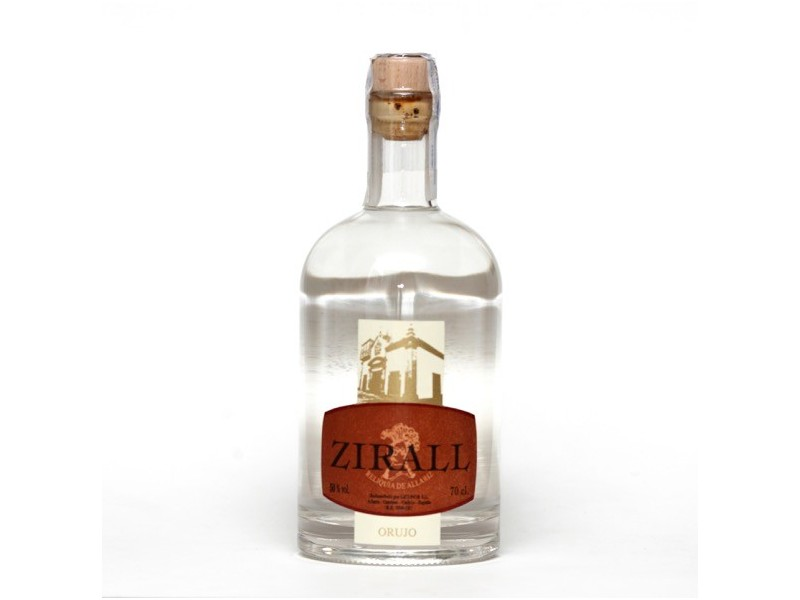 Orujo Blanco Zirall 70cl