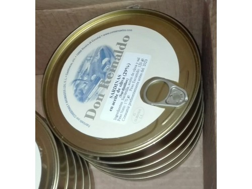 Sardinas en aceite de oliva Don Reinaldo