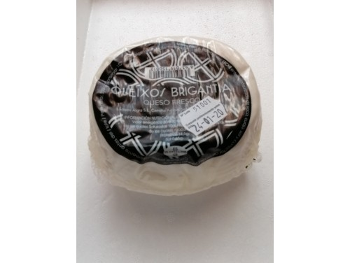 Queso fresco Gallego Brigantia 500 Grs.