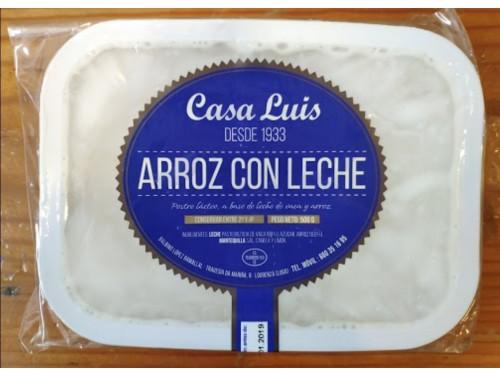 Arroz con leche Casa Luís. P.N. 500 Grs.