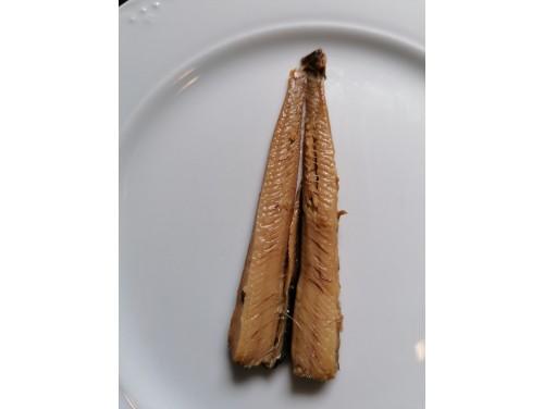 Truchas ahumadas en aceite de oliva. P.E. 120 Grs.