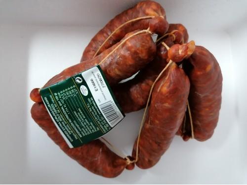 Chorizos rojos O Mazo. 1 KG.