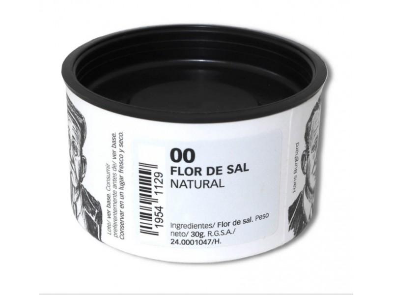 Flor de sal natural. 30 GRS.