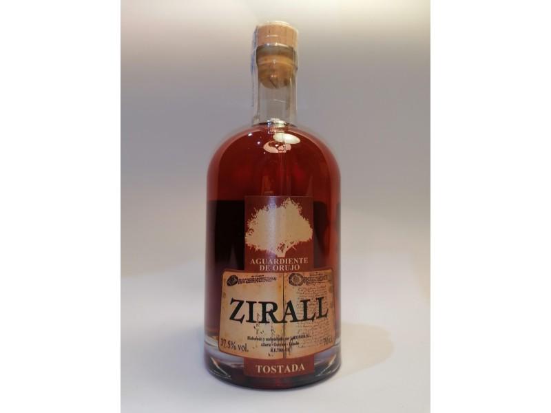 Aguardiente de orujo tostada Zirall