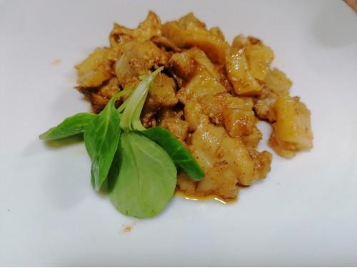 Raxo de Pollo con Patatas